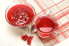 果酱和饮料从中华的Schisandra 库存图片