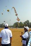 果阿国际风筝节日17 库存图片