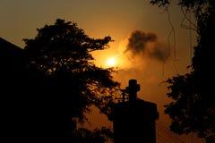 果阿-印度的十字架 免版税库存照片