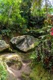果阿Gajah圣所Ubud,巴厘岛,印度尼西亚 免版税库存图片