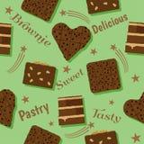 果仁巧克力庆祝设计 图库摄影