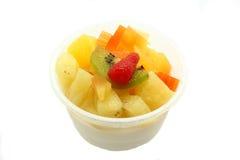 果冻布丁水果沙拉 免版税图库摄影