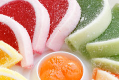 果冻甜点 图库摄影