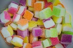 果冻甜点 免版税库存照片