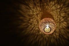 枝形吊灯阴影 库存图片