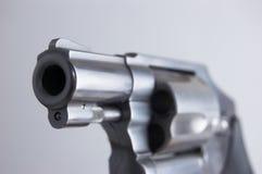 枪口左轮手枪 库存图片