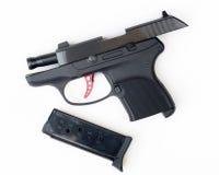 枪安全, 380手枪 库存图片