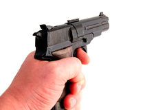枪射击 库存图片