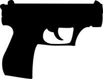 枪手枪 库存照片