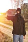 枪手 免版税库存照片