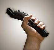 枪投降 免版税库存照片