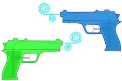 枪水 向量例证