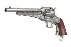 枪牛仔武装设备 免版税库存图片