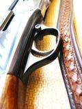 枪猎人 免版税图库摄影