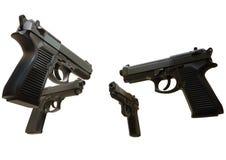 枪的例证 免版税图库摄影