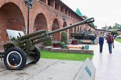 枪老苏维埃 免版税库存图片