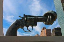 枪联合国 库存照片