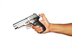 枪装载 图库摄影