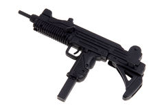枪设备玩具uzi 免版税库存照片