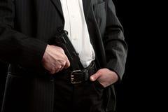 枪长裤 免版税图库摄影