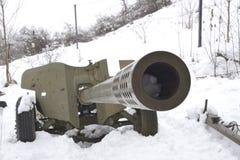 枪,放弃在战场 库存照片