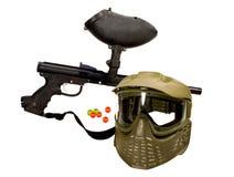 枪paintball重新创建 库存图片