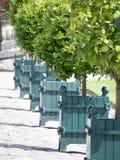 枫丹白露宫庭院的细节,法国 库存照片