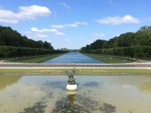 枫丹白露宫殿公园 免版税库存图片