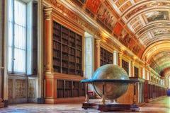 枫丹白露宫殿内部 戴安娜画廊 大别墅是 免版税图库摄影