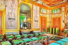 枫丹白露宫殿 库存照片