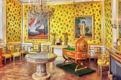 枫丹白露宫殿 免版税库存照片