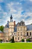 枫丹白露法国宫殿公园 免版税图库摄影