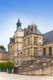 枫丹白露法国宫殿 库存照片