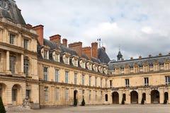 枫丹白露法国宫殿 库存图片