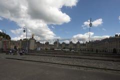 枫丹白露,法国宫殿  免版税图库摄影