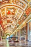 枫丹白露,法国- 2016年7月09日:枫丹白露宫殿int 免版税库存图片