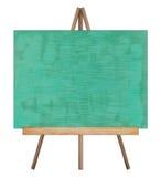 介绍画架图画黑板 免版税库存图片