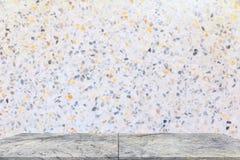 架子大理石设计 难倒在背景的磨石子地美丽的石头您的产品的 库存照片