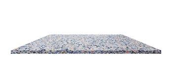 架子大理石设计 难倒在背景的磨石子地美丽的石头您的产品的 免版税库存照片