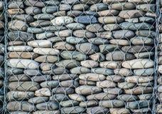 架线的石纹理 免版税库存图片