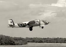 2架轰炸机战争世界 免版税库存图片