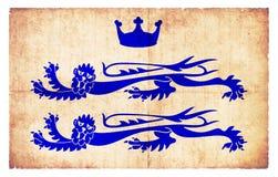 柏克夏大英国难看的东西旗子  免版税库存图片