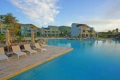 柏悦St基茨希尔度假旅馆在圣基茨和尼维斯 库存图片