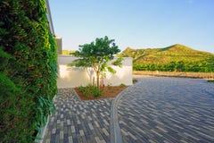 柏悦St基茨希尔度假旅馆在圣基茨和尼维斯 免版税图库摄影