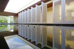 柏悦St基茨希尔度假旅馆在圣基茨和尼维斯 免版税库存照片