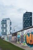 柏林东边画廊 图库摄影