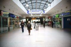 柏林东铁驻地的商店 库存照片