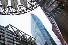 柏林中心索尼 免版税库存图片