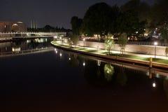 柏林中心 库存照片