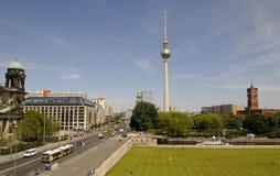 柏林中心 免版税库存图片